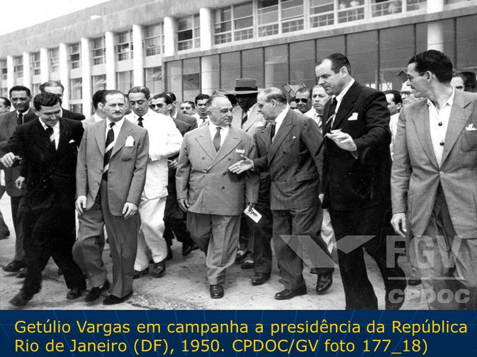 Getúlio Vargas em campanha a presidência da República