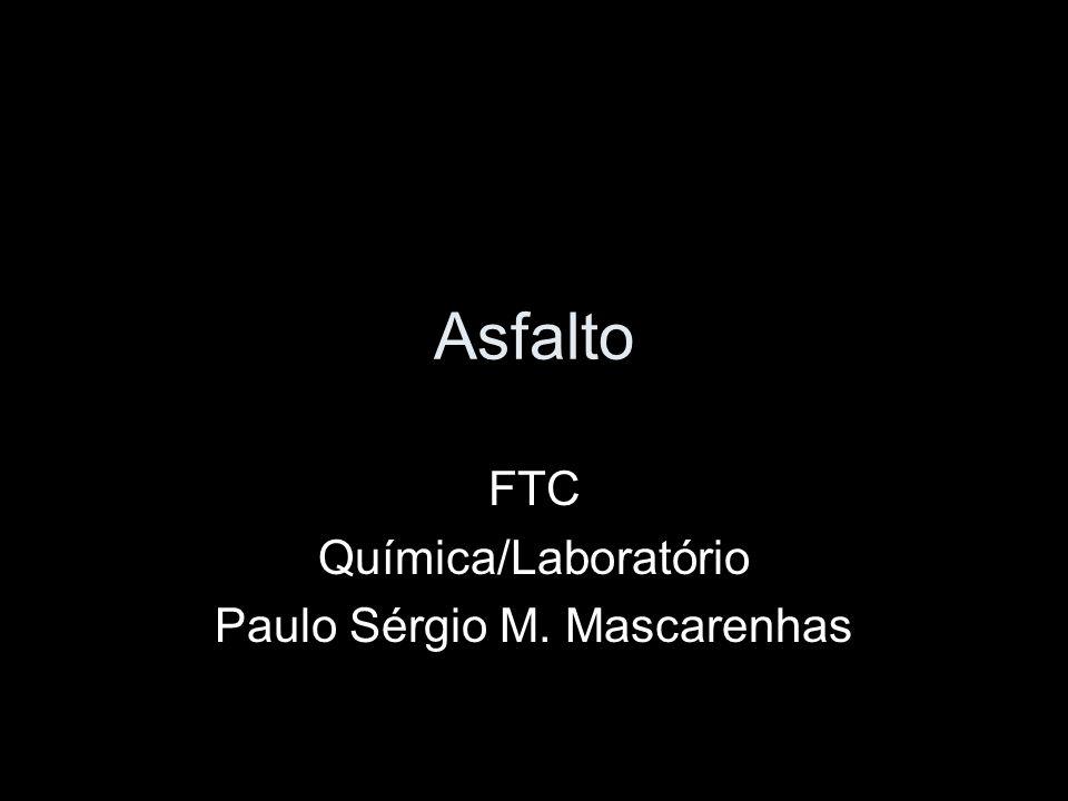 FTC Química/Laboratório Paulo Sérgio M. Mascarenhas