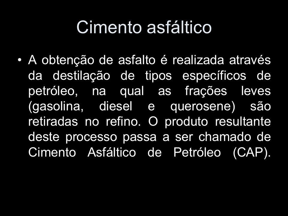 Cimento asfáltico