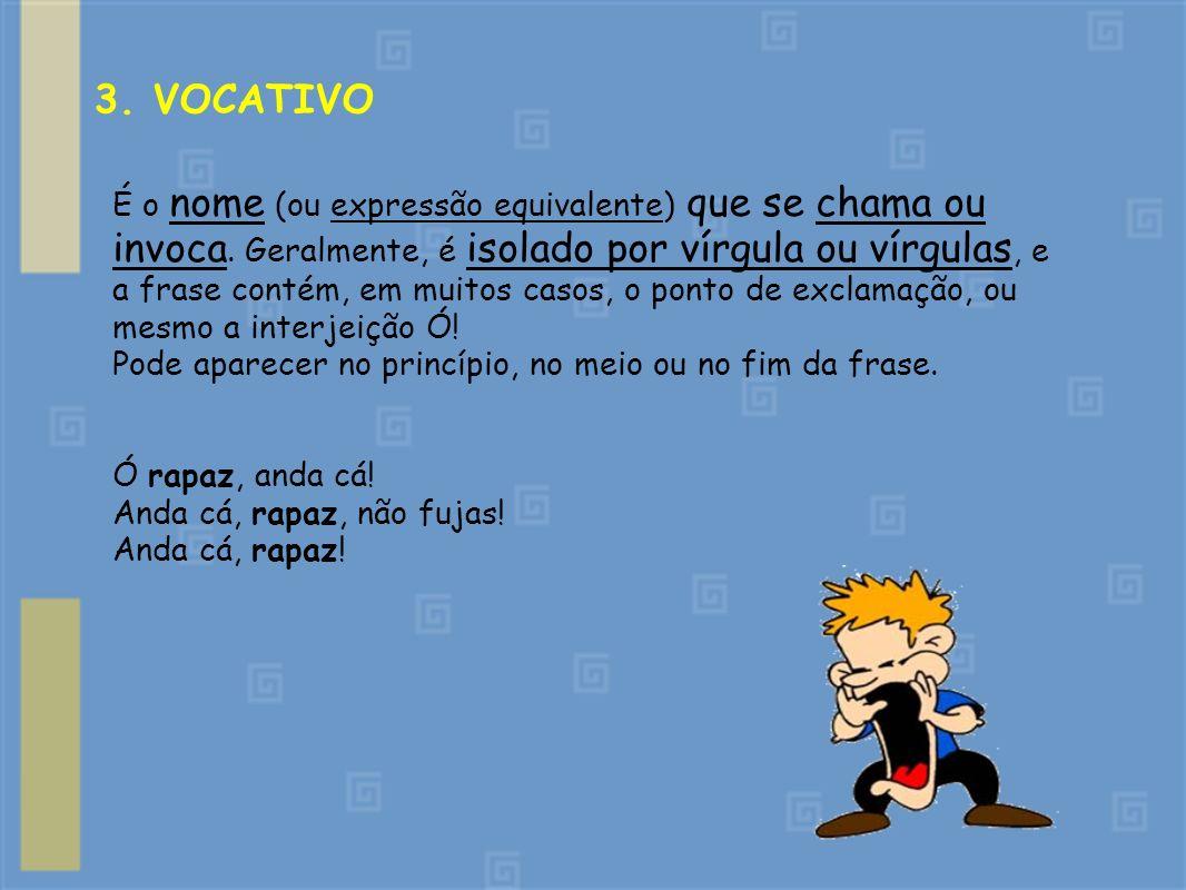 3. VOCATIVO
