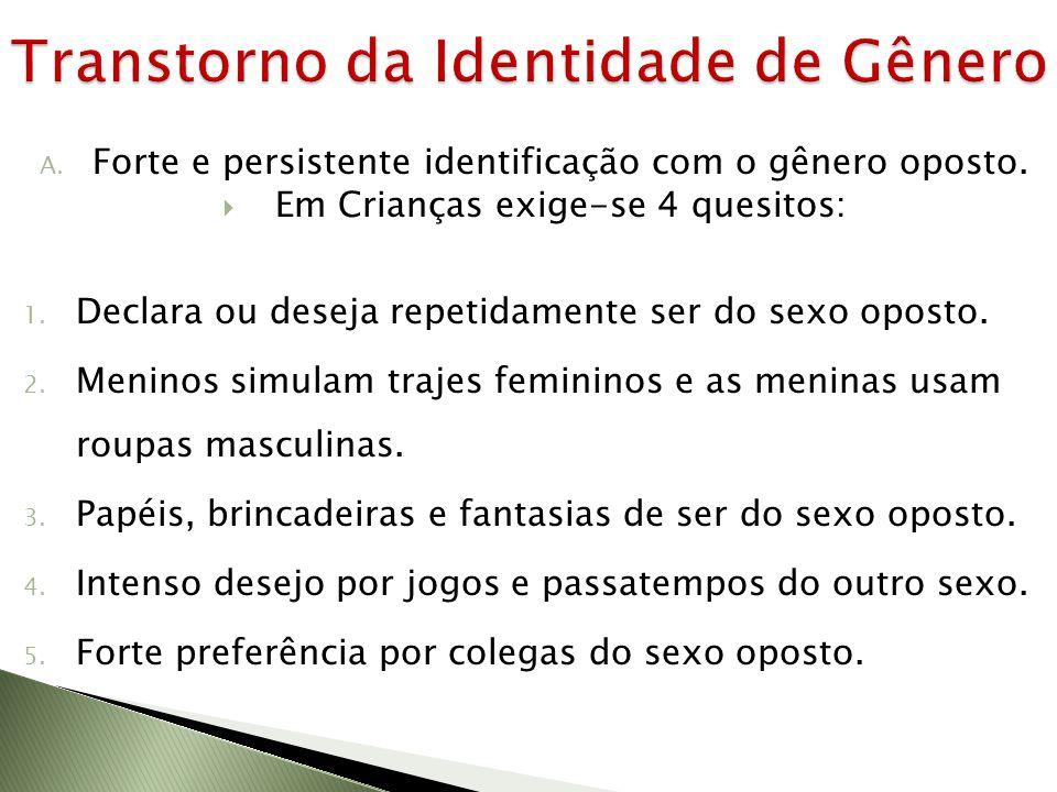 Transtorno da Identidade de Gênero