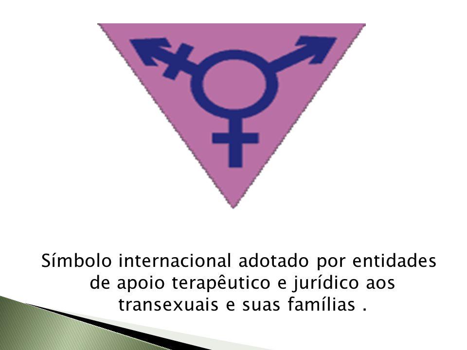 Símbolo internacional adotado por entidades de apoio terapêutico e jurídico aos transexuais e suas famílias .