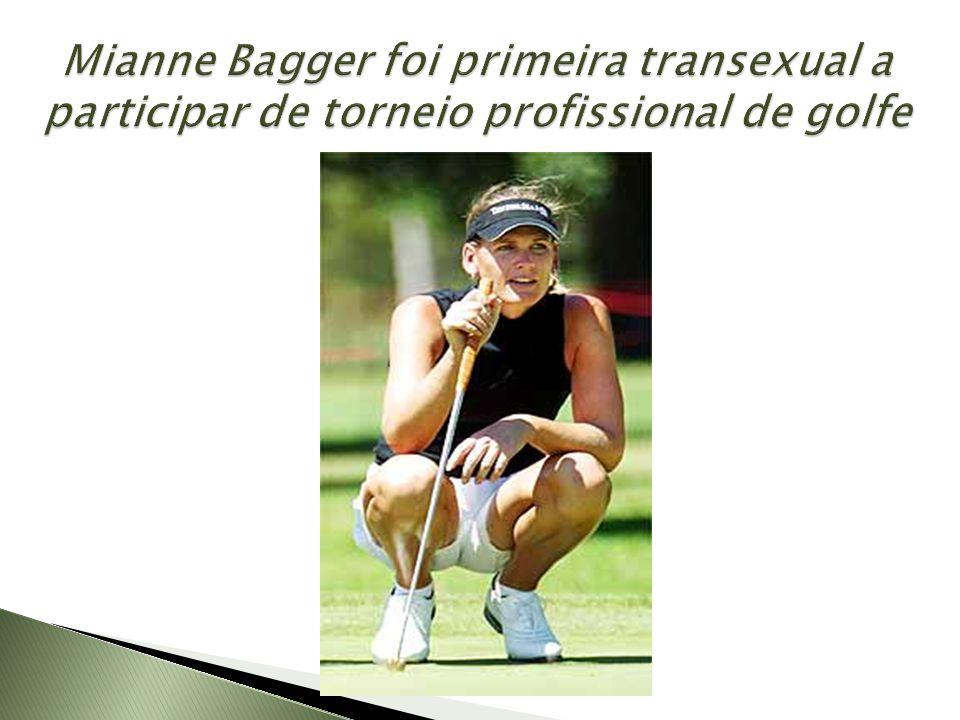 Mianne Bagger foi primeira transexual a participar de torneio profissional de golfe