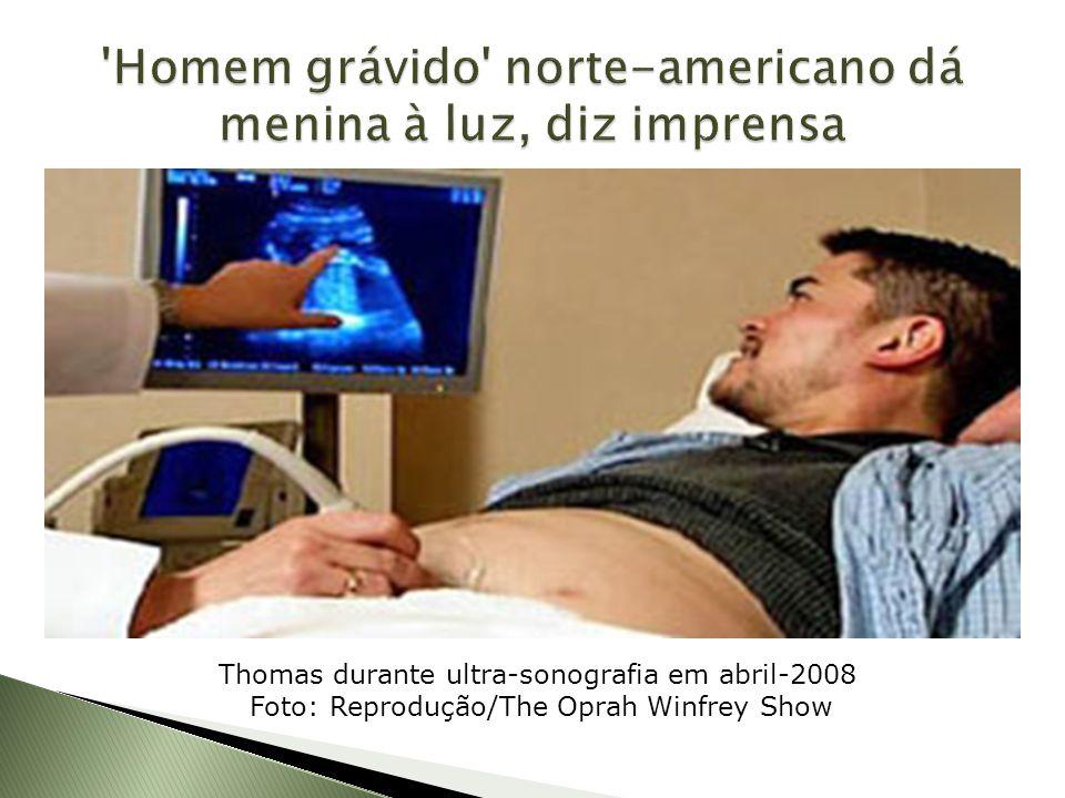 Homem grávido norte-americano dá menina à luz, diz imprensa