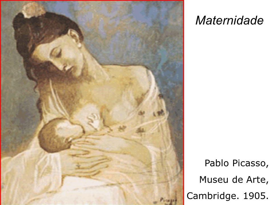 Maternidade Pablo Picasso, Museu de Arte, Cambridge. 1905.