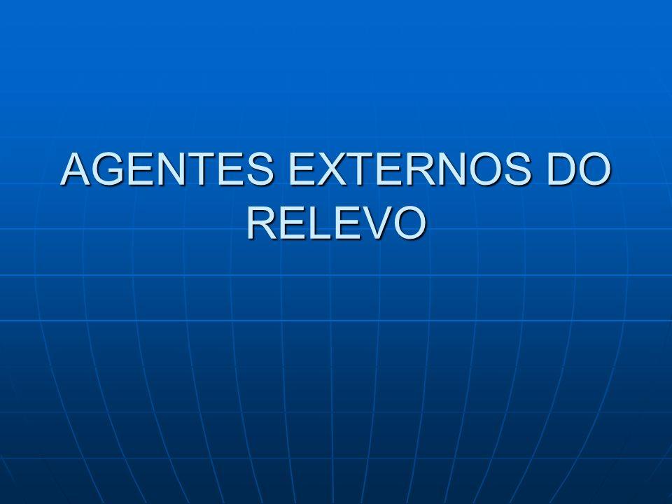 AGENTES EXTERNOS DO RELEVO