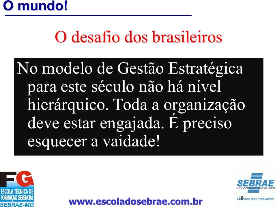 O desafio dos brasileiros