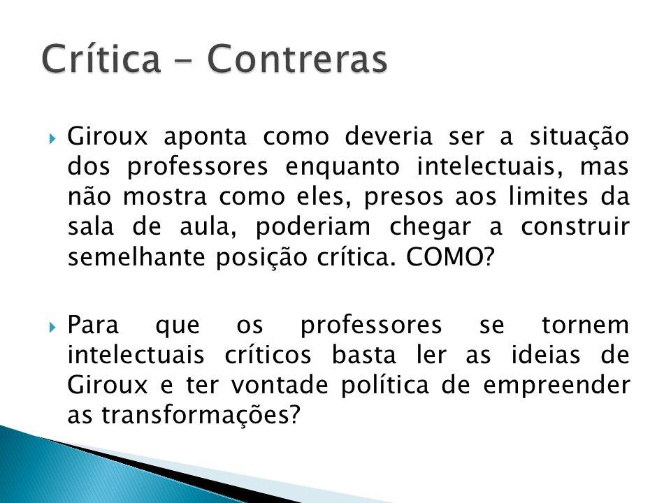 Crítica - Contreras