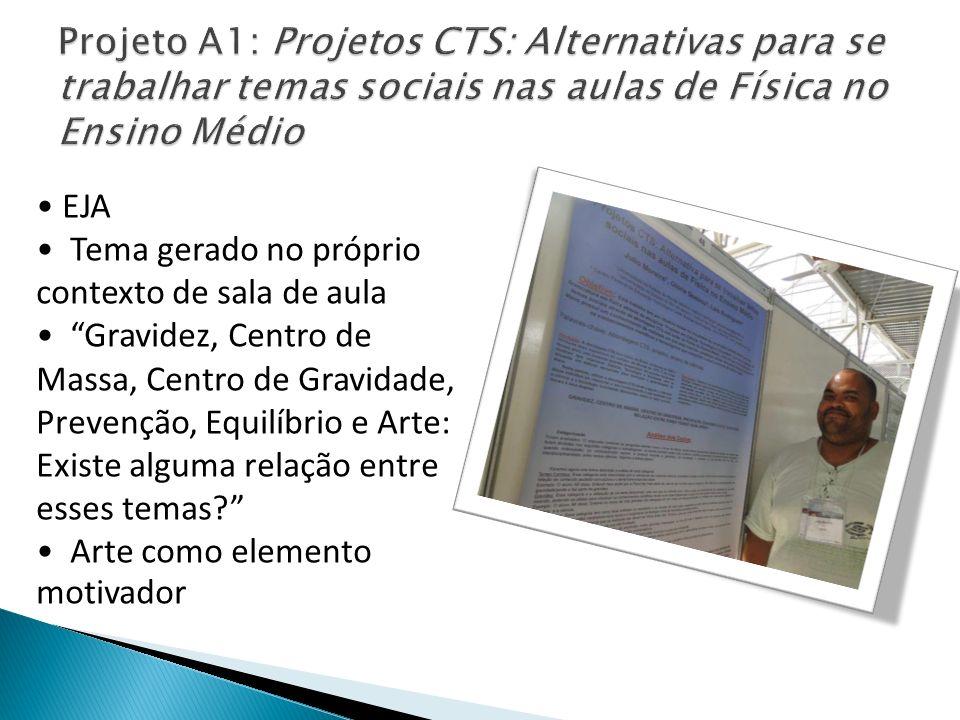 Projeto A1: Projetos CTS: Alternativas para se trabalhar temas sociais nas aulas de Física no Ensino Médio