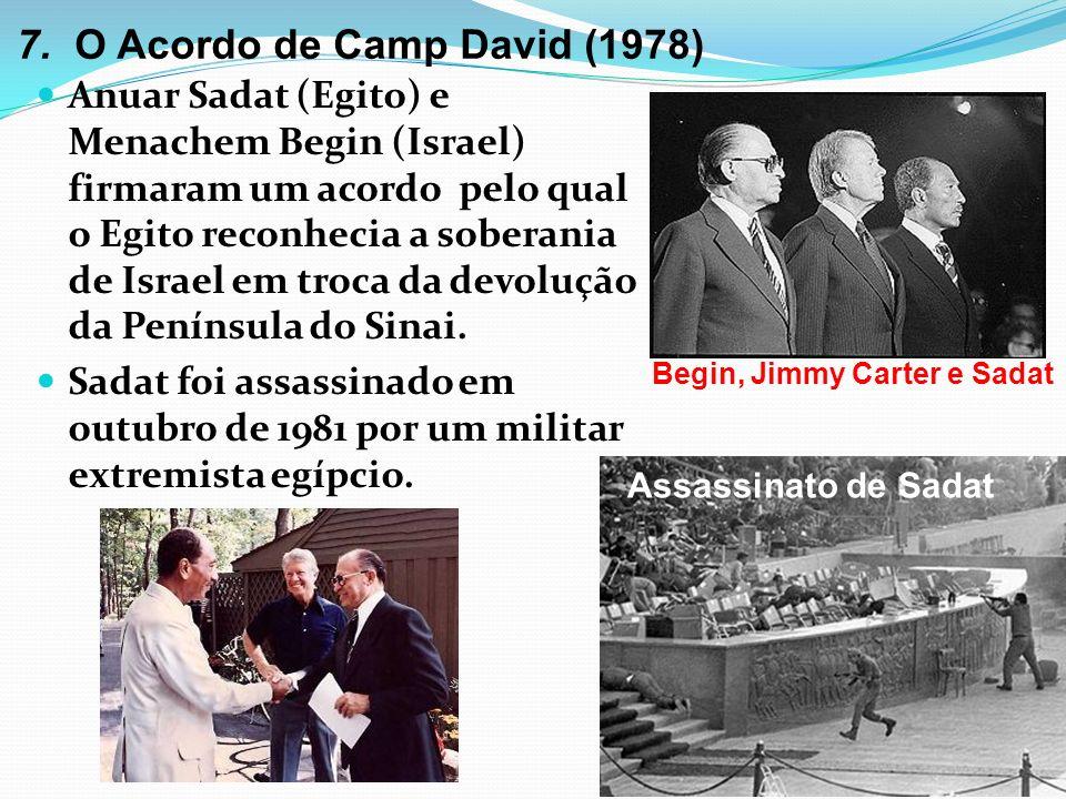 7. O Acordo de Camp David (1978)