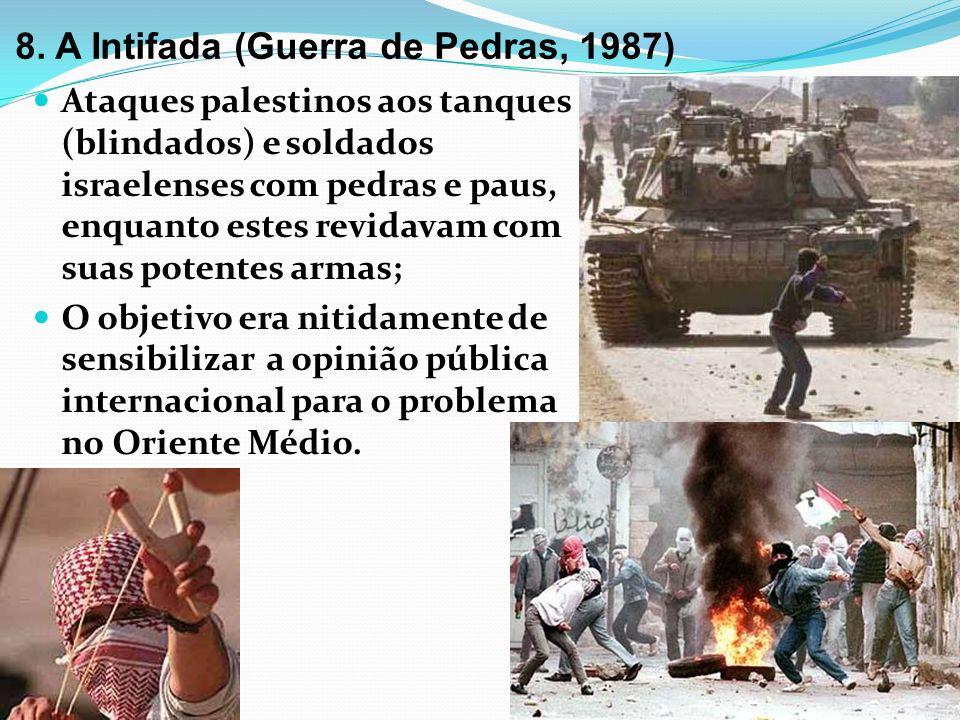 8. A Intifada (Guerra de Pedras, 1987)