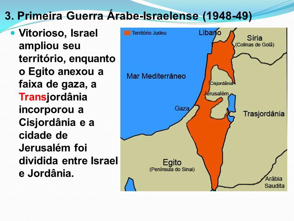 3. Primeira Guerra Árabe-Israelense (1948-49)