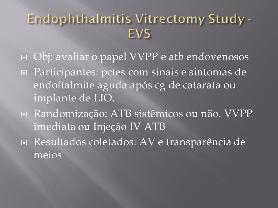 Endophthalmitis Vitrectomy Study - EVS