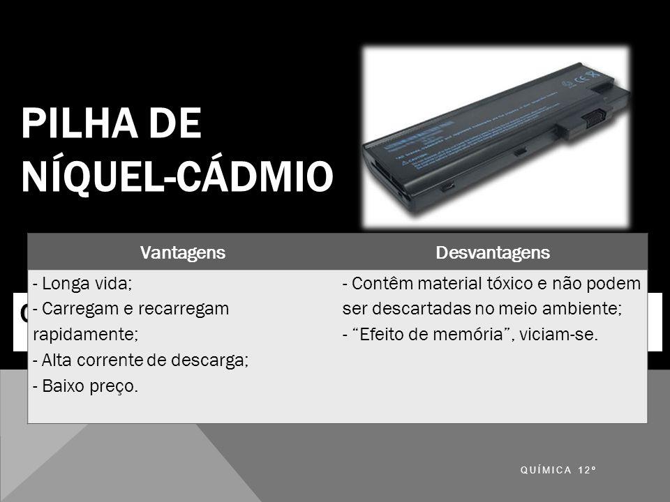 PILHA DE NÍQUEL-CÁDMIO