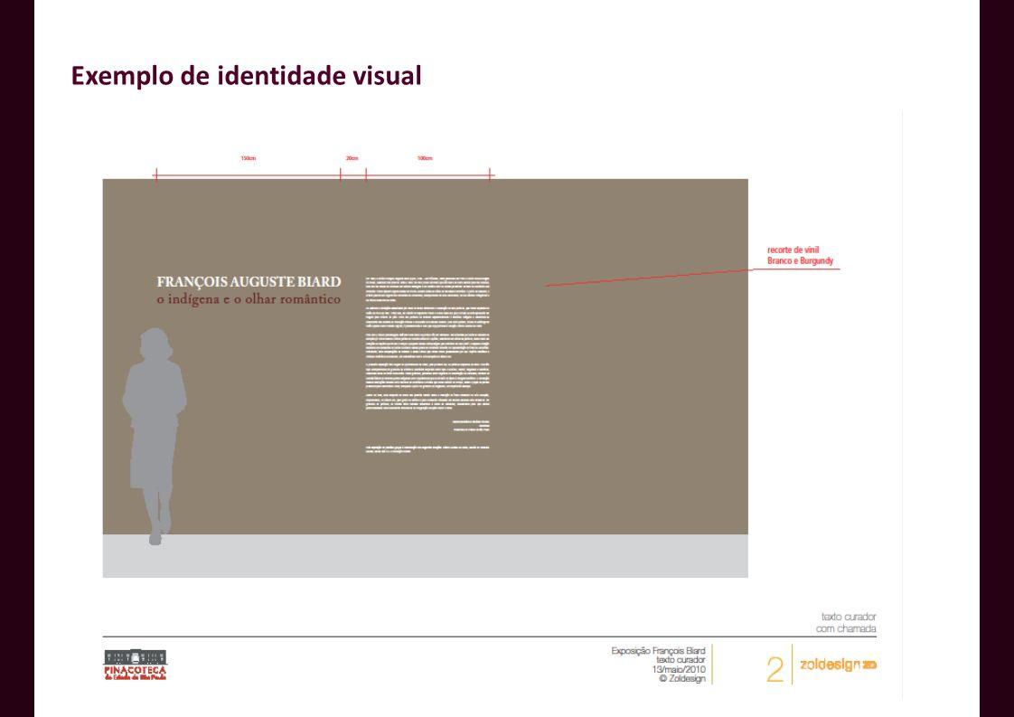 Exemplo de identidade visual