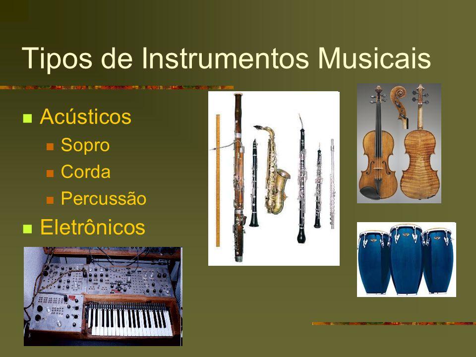 Tipos de Instrumentos Musicais