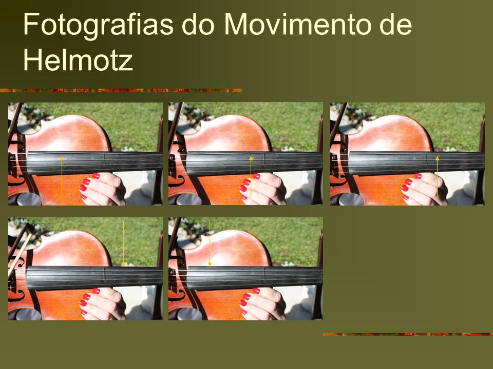 Fotografias do Movimento de Helmotz