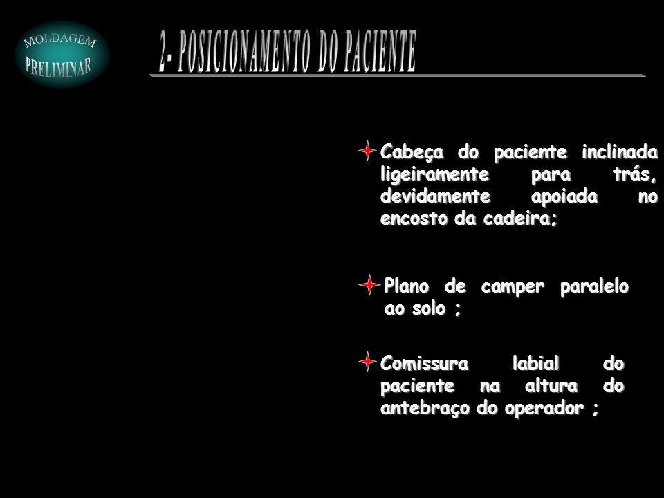 2- POSICIONAMENTO DO PACIENTE