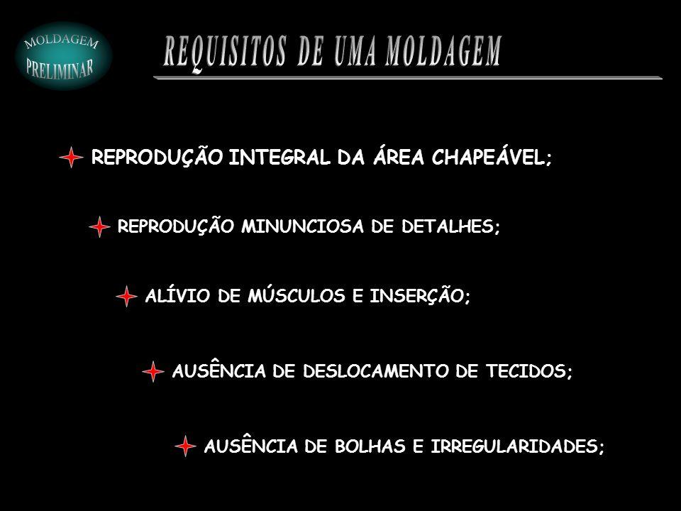 REQUISITOS DE UMA MOLDAGEM