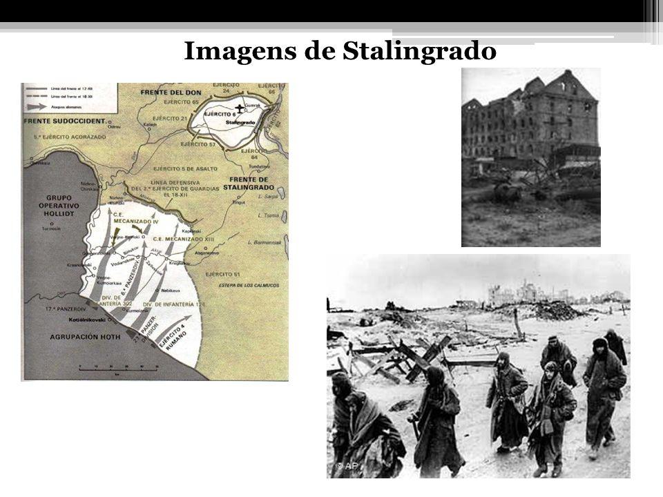 Imagens de Stalingrado