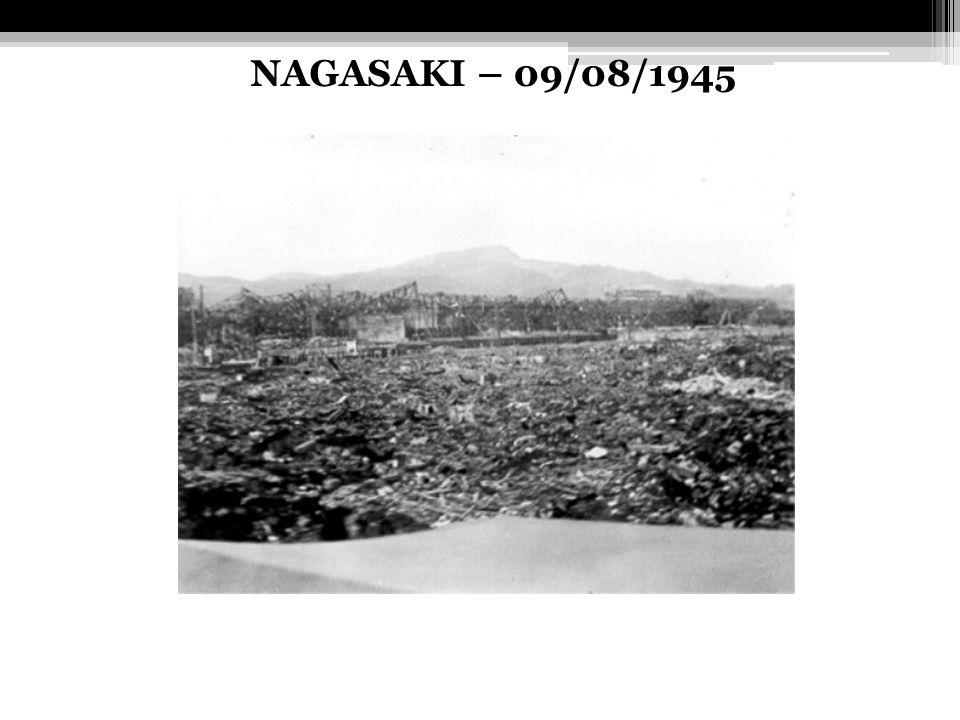 NAGASAKI – 09/08/1945