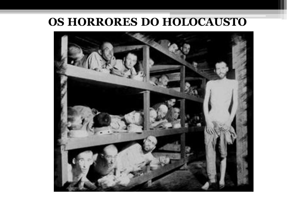 OS HORRORES DO HOLOCAUSTO