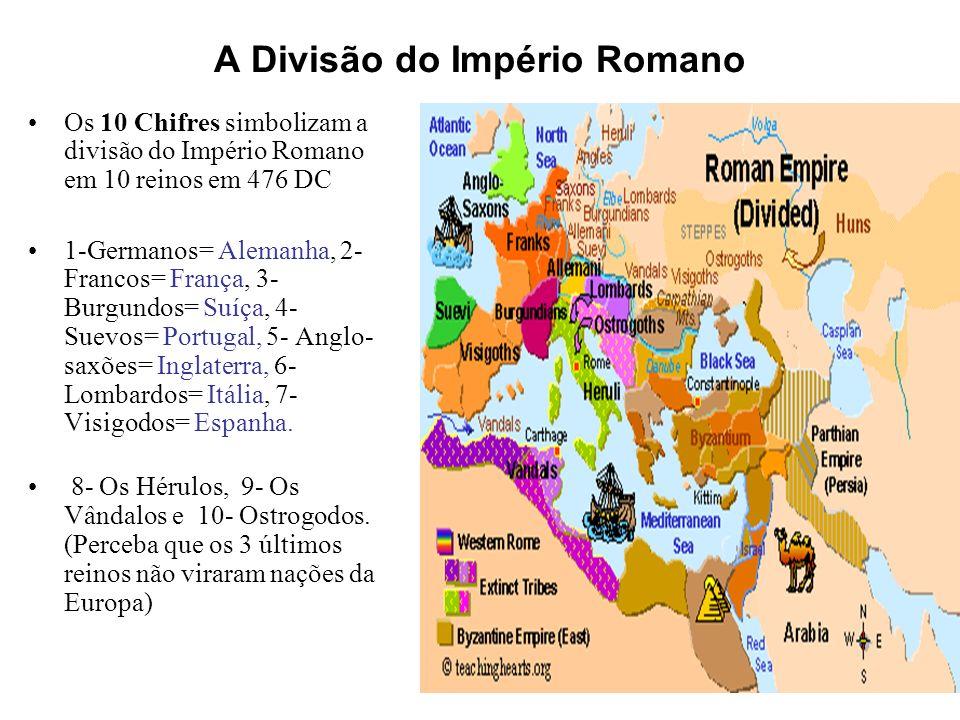 A Divisão do Império Romano