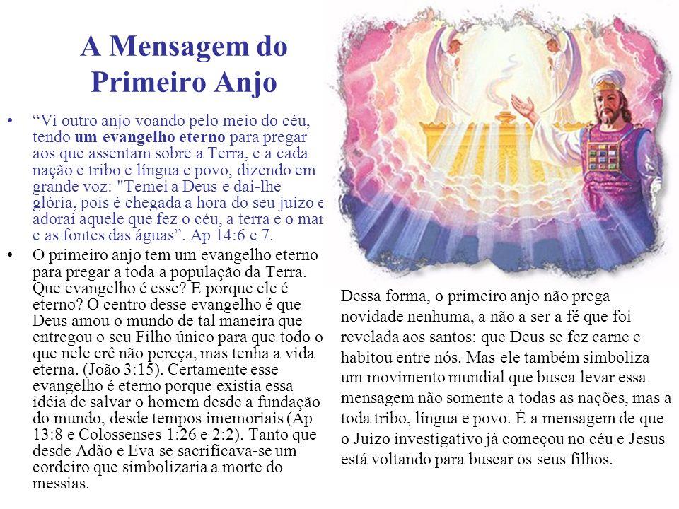 A Mensagem do Primeiro Anjo