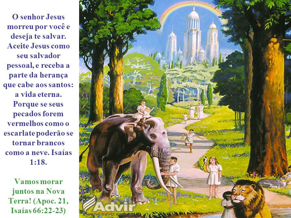 O senhor Jesus morreu por você e deseja te salvar