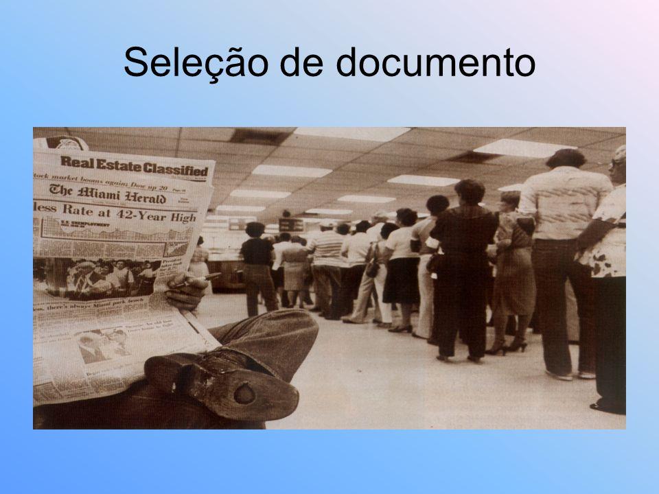 Seleção de documento