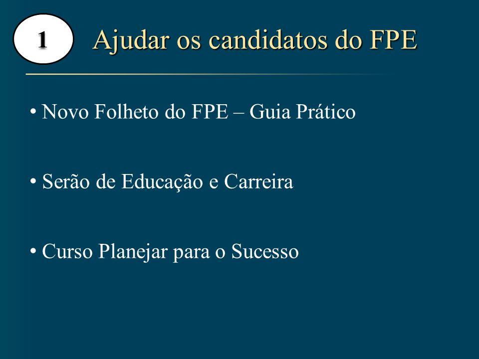 Ajudar os candidatos do FPE