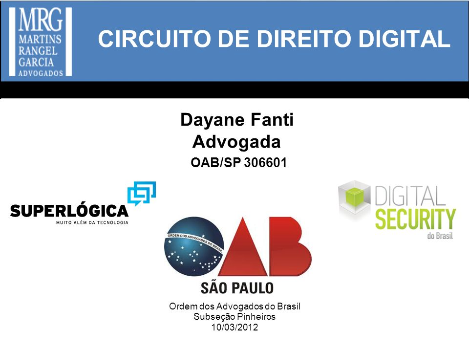CIRCUITO DE DIREITO DIGITAL