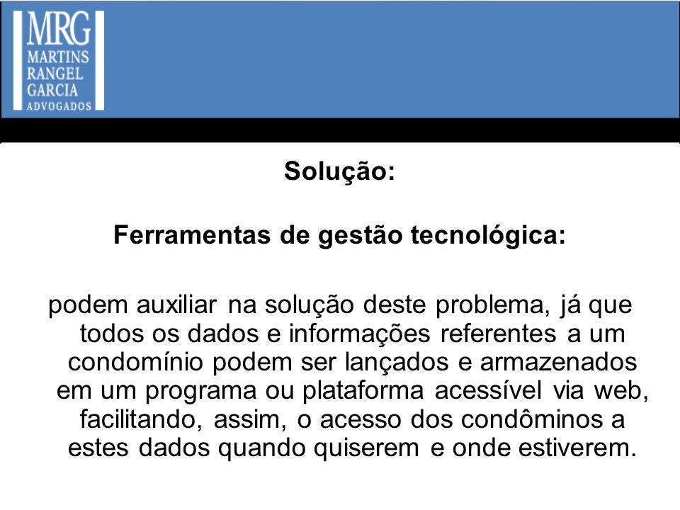 Ferramentas de gestão tecnológica: