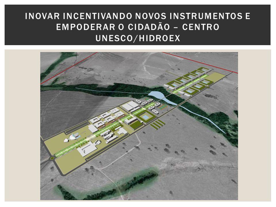 INOVAR INCENTIVANDO NOVOS INSTRUMENTOS E EMPODERAR O CIDADÃO – CENTRO UNESCO/HIDROEX