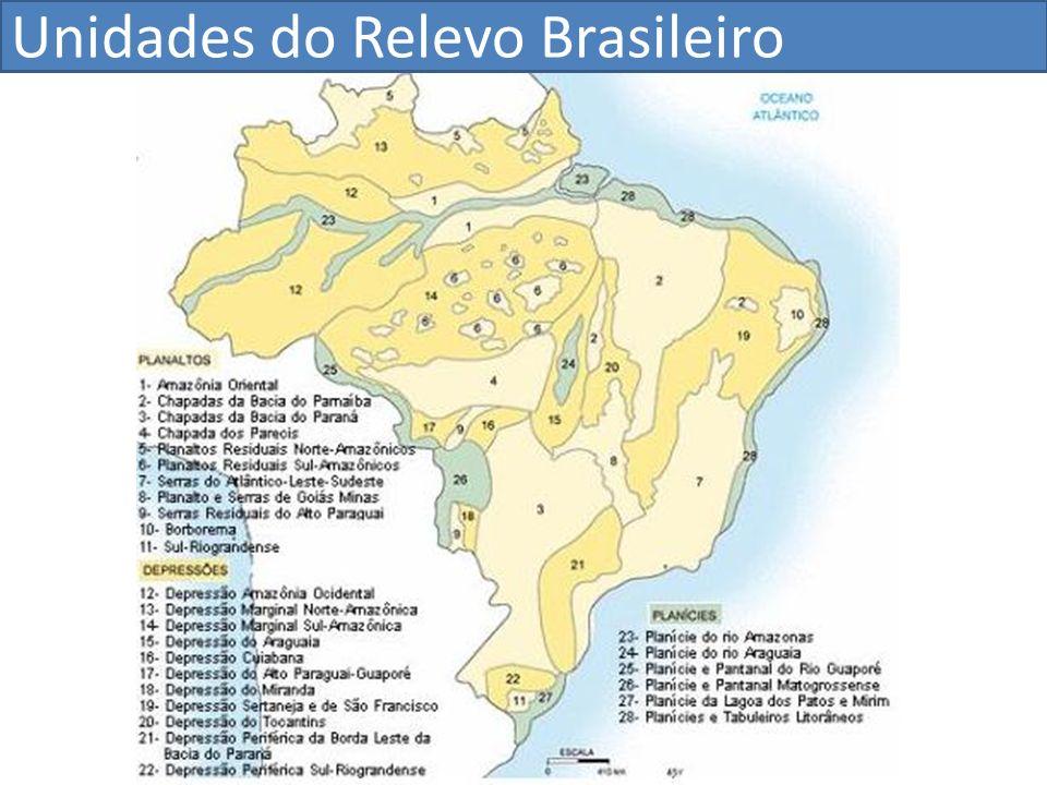 Unidades do Relevo Brasileiro