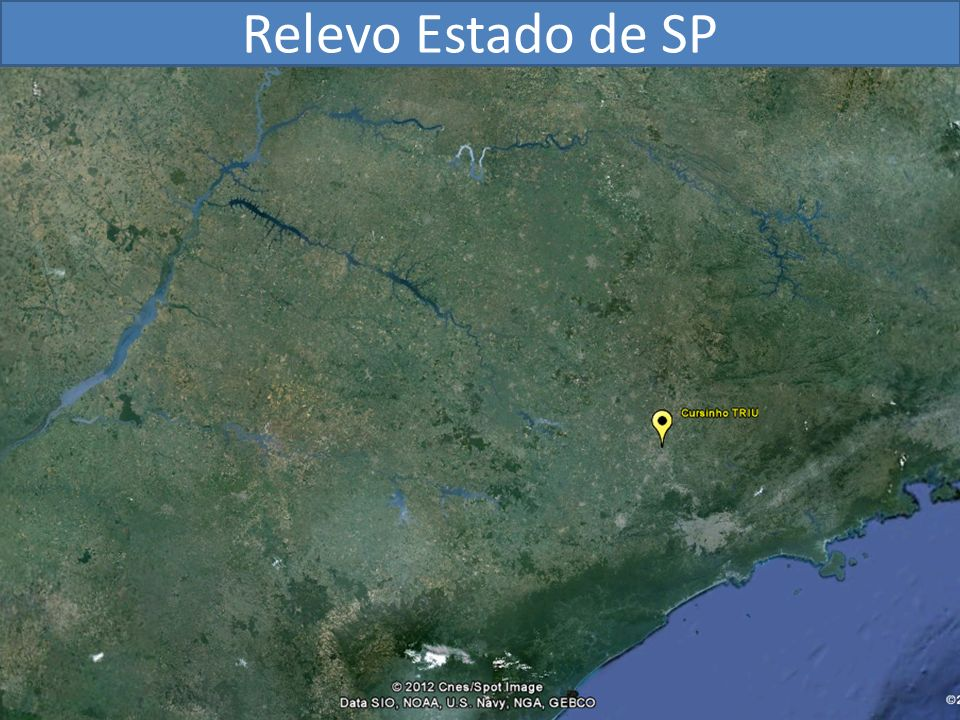 Relevo Estado de SP