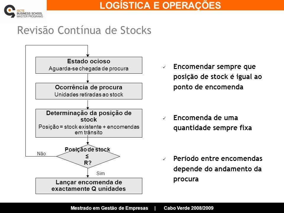 Revisão Contínua de Stocks