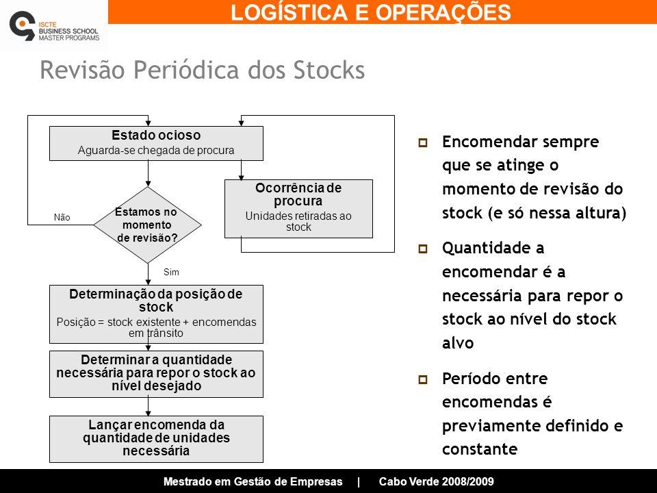 Revisão Periódica dos Stocks