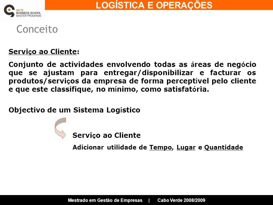Conceito Serviço ao Cliente Serviço ao Cliente: