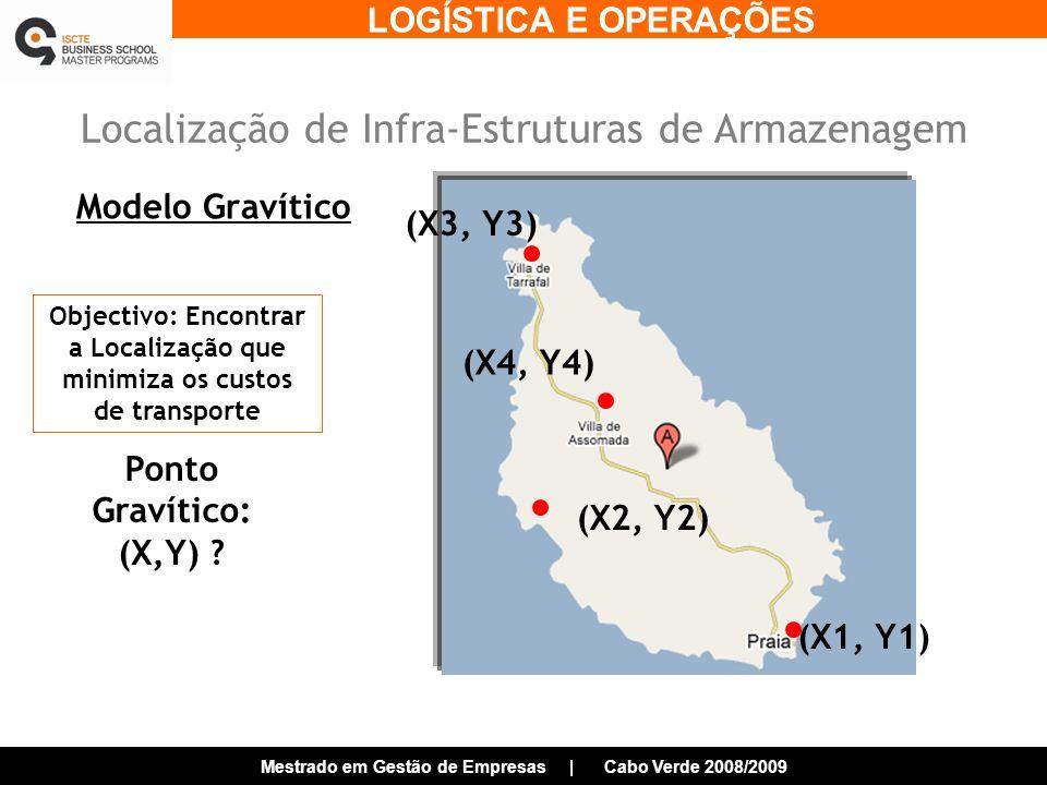 Localização de Infra-Estruturas de Armazenagem