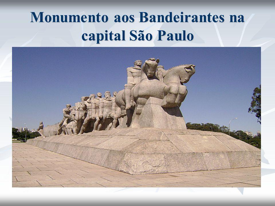 Monumento aos Bandeirantes na capital São Paulo
