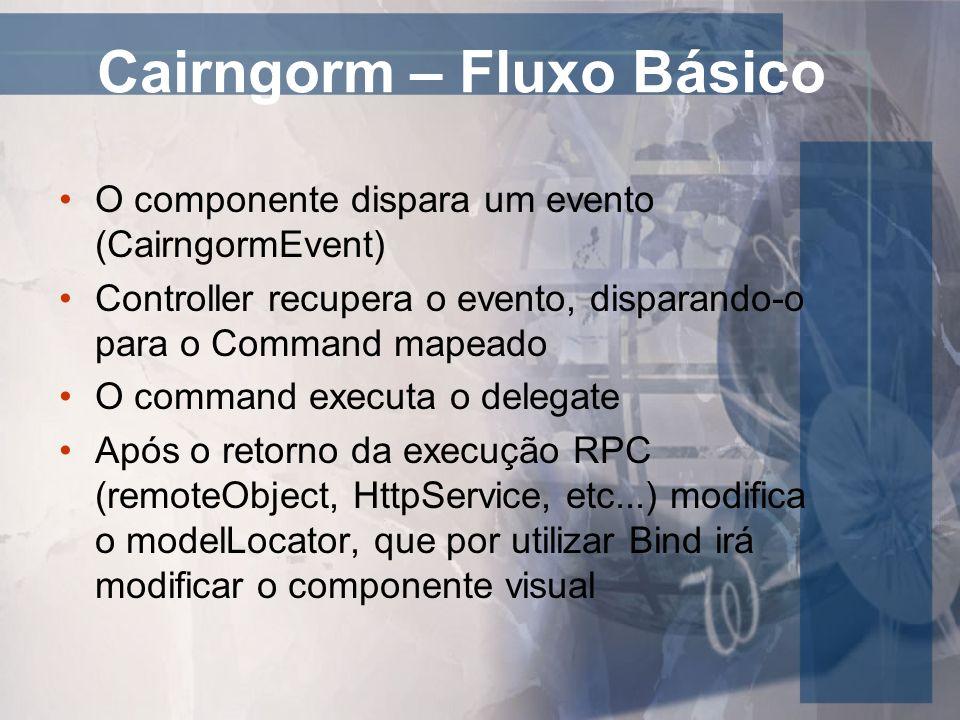 Cairngorm – Fluxo Básico