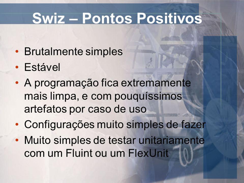 Swiz – Pontos Positivos