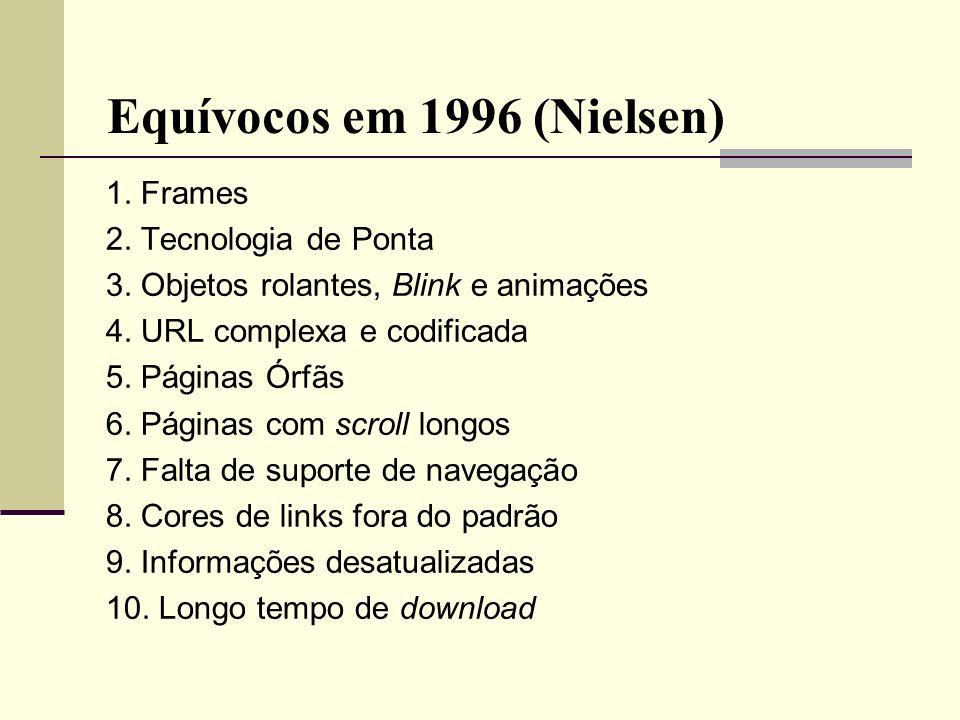 Equívocos em 1996 (Nielsen)