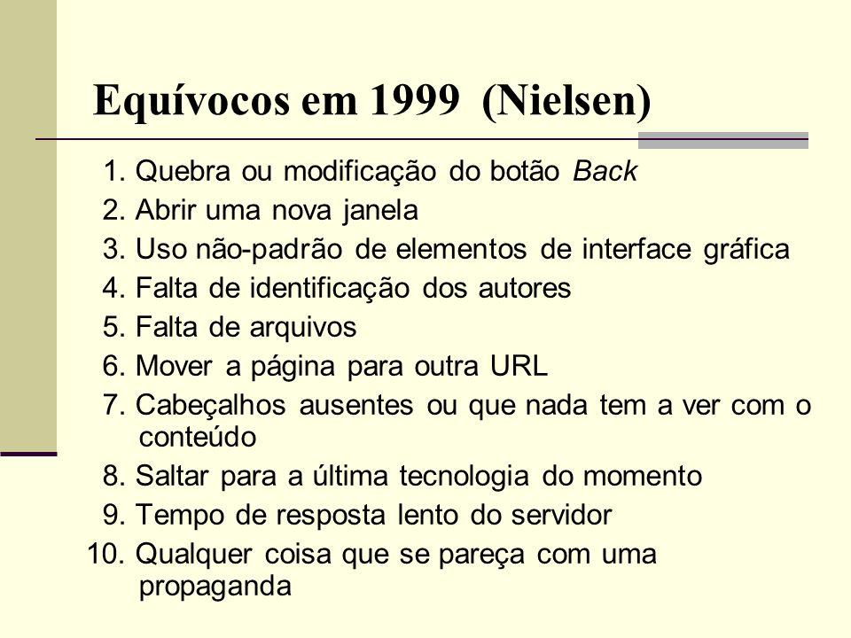 Equívocos em 1999 (Nielsen)