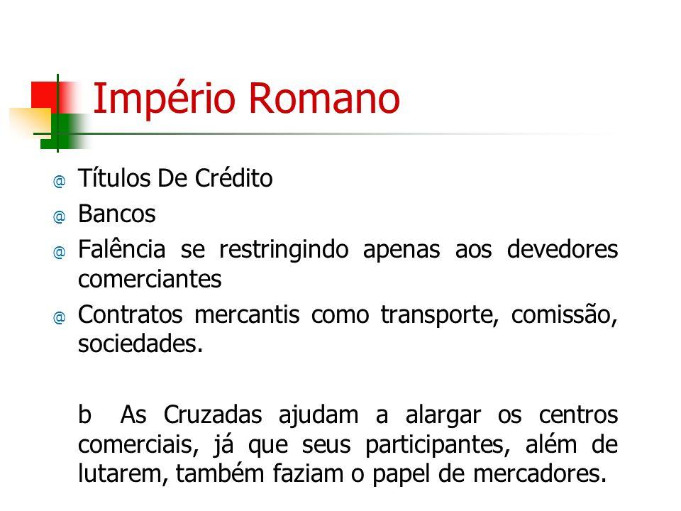 Império Romano Títulos De Crédito Bancos
