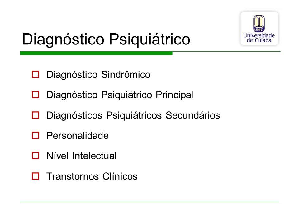 Diagnóstico Psiquiátrico