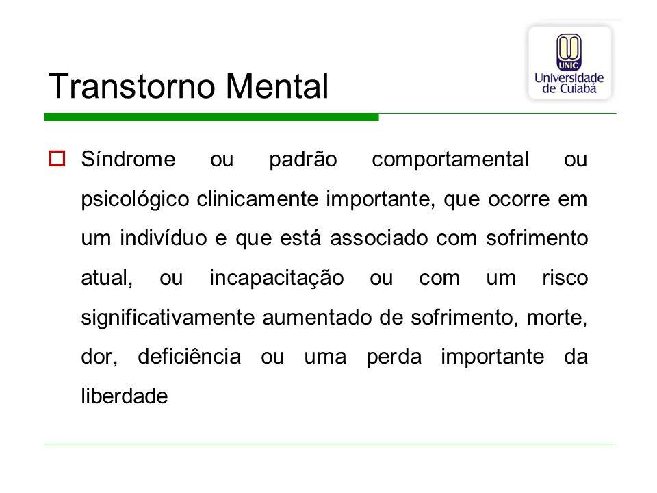 Transtorno Mental
