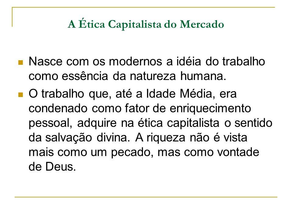A Ética Capitalista do Mercado