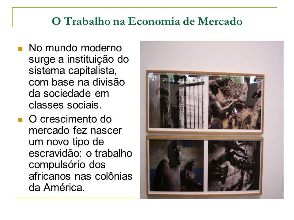 O Trabalho na Economia de Mercado